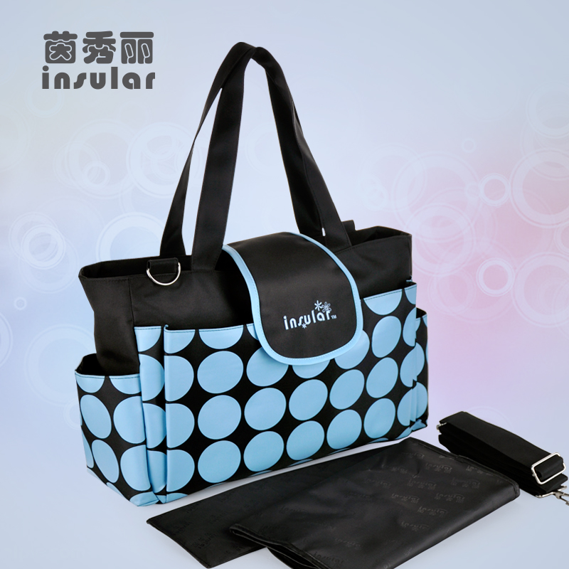 New Style Fashion Baby Diaper Bags Multifunctional Nappy Bags Mommy Bags