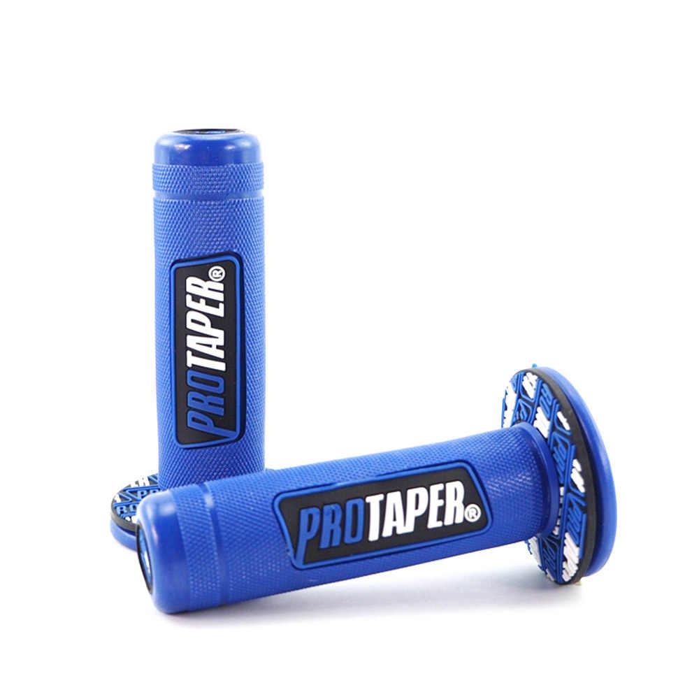 """Sepeda Motor Pro Taper Genggaman Motocross Grip Handle Bar Kotoran Pit Sepeda 7/8 """"22 Mm Stang Karet Gel Dual MX grip"""