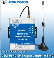 GSM 3G 4G S140 Remote Controller Alarm Remote Switching Machines Burglar Alarm System