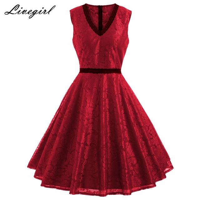 Lace Retro Dresses
