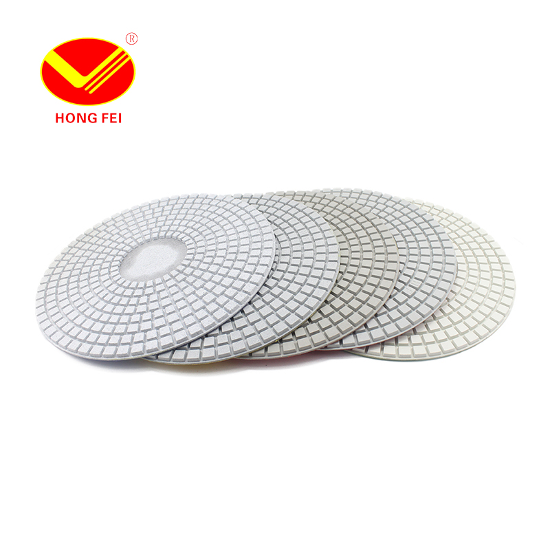 HongFei 1 Piece 350mm Grit 50#-2000# Diamond Wet Polishing Pads For Granite Marble Glass Artificial Stone Processing  цены