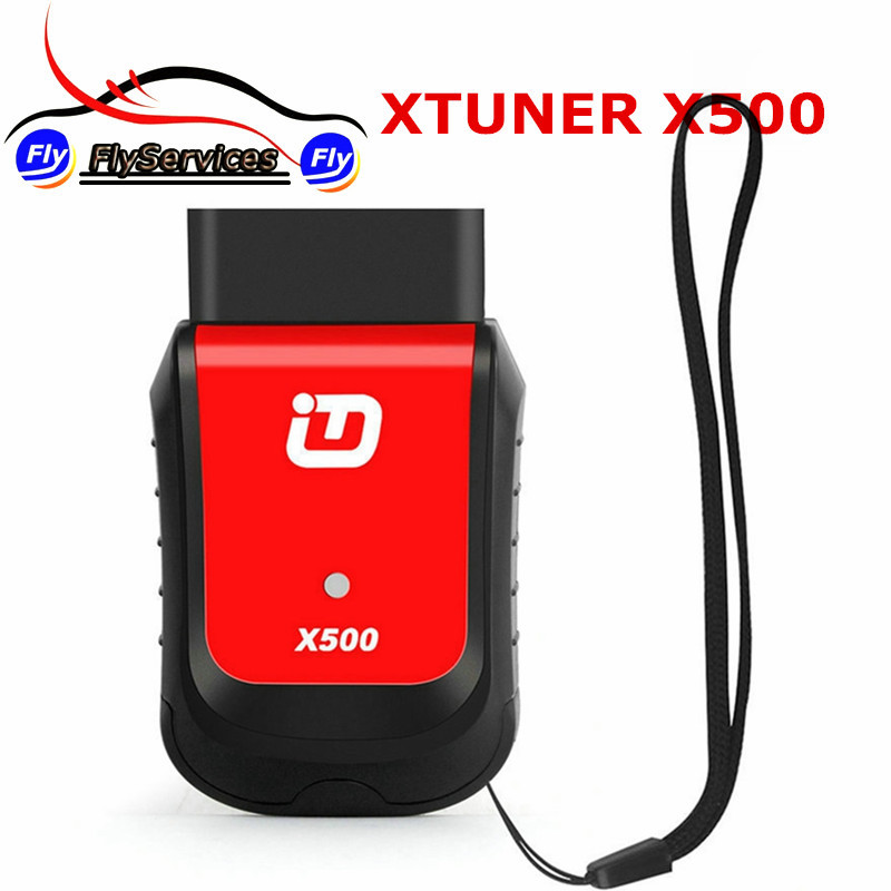 Diagnostic Tool XTuner X500 Car Maintenance Tool For ABS Battery DPF EPB SRS TPMS  IMMO Key Injector Reset Support Android Phone free shipping airbag reset tool for benz sbc tool w211 r230 abs sbc tool mb sbc system