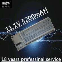 5200MAH Laptop Battery for dell Latitude D620 D630 ATG UMA D630c Precision M2300 TG226 UD088 akku