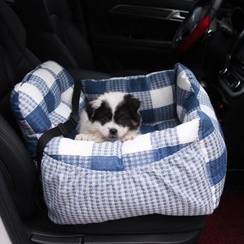 Переносная кровать для домашних животных, дышащая, безопасная, диванная, для собак, для путешествий, щенков, кошек, автомобильное сиденье дл...