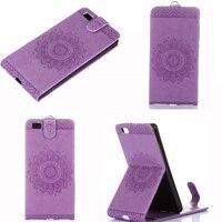 Fashion Magnetic PU Leather For Huawei P8 lite P9 lite G9 Lite Nova Lite Card Holder Stand Vertical Flip Case Cover