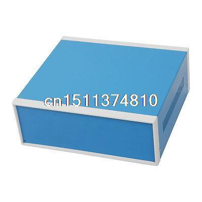 цена на 12.2 x 11.2 x 4.3 Circuit Cable Connect Screw Cover Metal Junction Box