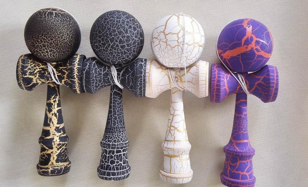 Free Shipping Good Quality 4Types Toy Ball Kendama Beech Matarial Ball Bilboquet