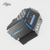 For MT 09 MT09 FZ09 FZ 09 2015 2016 Motorcycle CNC Aluminum Radiator Side Protective Cover