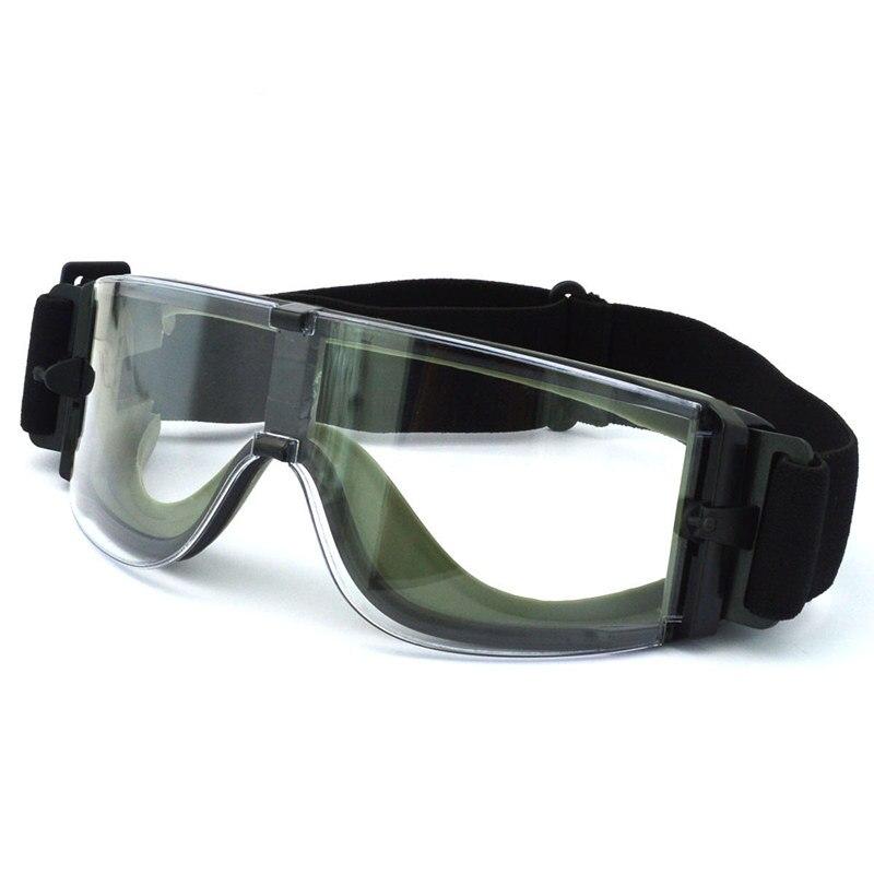 X800 glasses Safety Goggles USMC Airsoft Sunglasses Bulletproof windproof Sand prevention dustproof Anti-impact CS glasses
