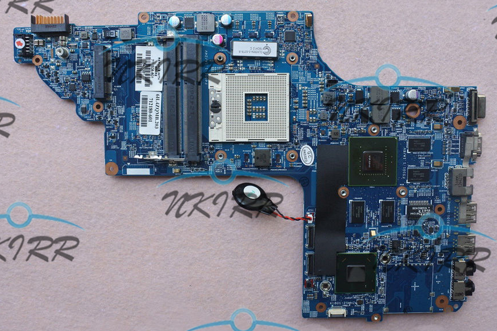 11254-3 48.4ST10.031 711509-501/001 55.4ZQ01.006 711508-601 650M 2G MotherBoard for HP DV6-7000 DV6-7300 DV7-7000 DV7-7300 laptop motherboard for dv7 7000 711509 001 711509 501 712183 501 system mainboard fully tested