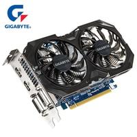 GIGABYTE Graphics Card GTX 750 Ti Original Card with NVIDIA GeForce GTX 750Ti GPU 2GB GDDR5 128 Bit Video Card for PC Used Cards
