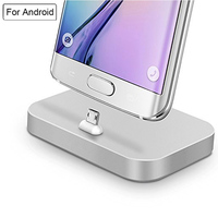 Android Micro USB Charger Docking Stand Station Cradle Charging Data Sync Mobile Phone Dock Adapter For