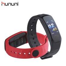 HUNUNI C1 модные спортивные смарт-браслет на запястье Многоязычная шагомер крови Давление измерения в Smart Напульсники