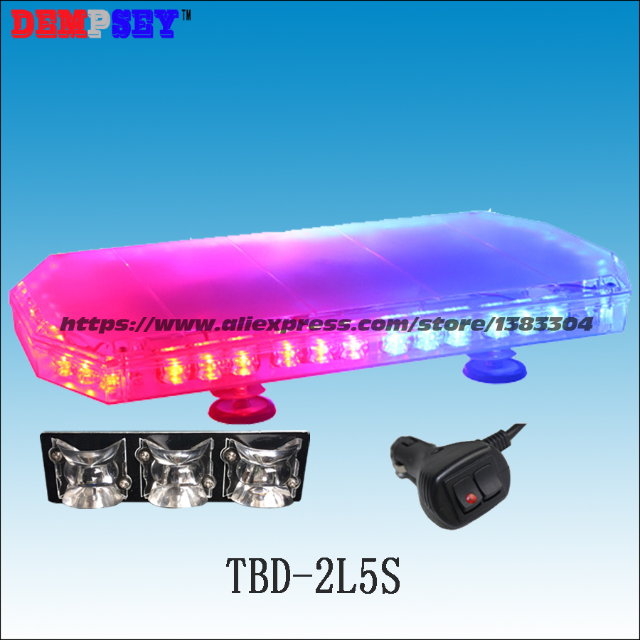 Tbd 2l5s led mini lightbar emergency police red blue dc12v 24v tbd 2l5s led mini lightbar emergency police red blue dc12v 24v flashing warning lightheavy magnetic base led lights in alarm lamp from security aloadofball Gallery