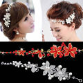 Hot, Faux Fashion Pearl Flower Party Hair Band Strass Crystal Tiara Bride's Tiara