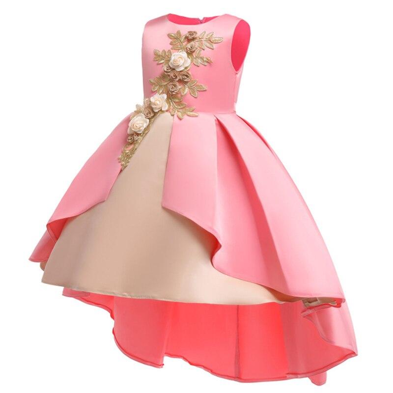 58cd271db8 Dziewczyny sukienka na imprezę 2019 letnie dzieci księżniczka sukienka  karnawał kostium dla dzieci sukienki dla dziewczynek