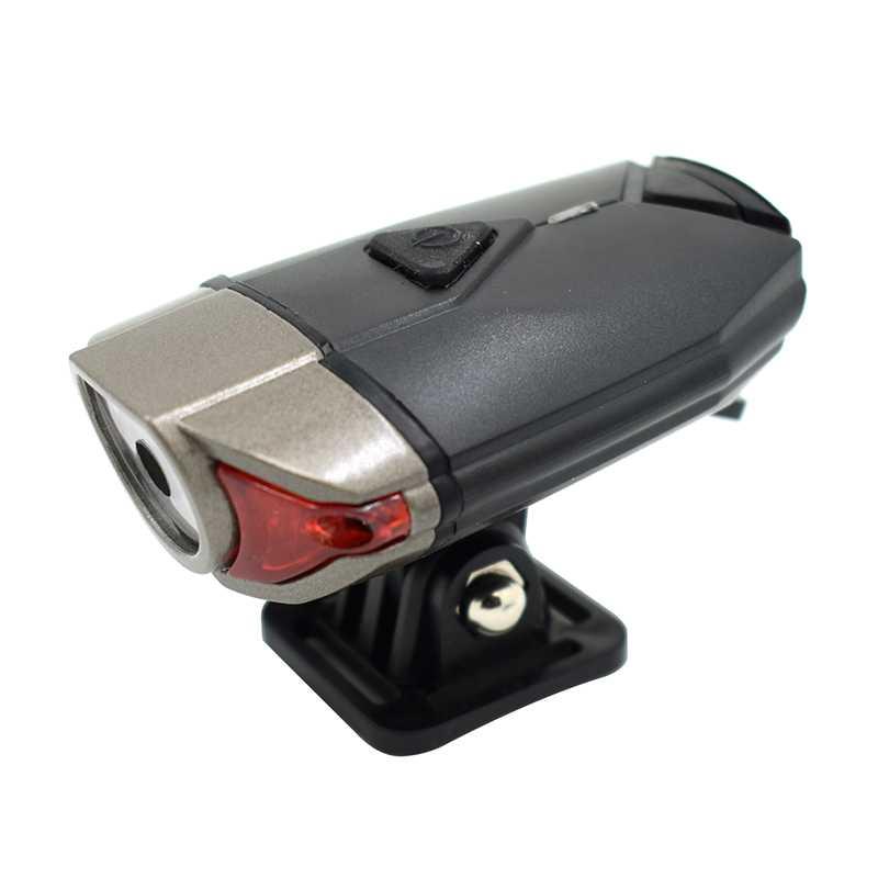 WasaFire Bike Front Light XPG Led USB Rechargeble 3 Modes Aluminium Alloy Waterproof Cycling LED Bicycle Lamp Fishing Headlamp