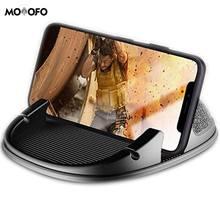 Автомобильный держатель для телефона без клея силиконовая приборная панель для автомобиля, совместимая с iPhone X/8 Plus/7 Plus/6 S, samsung Galaxy S8 Plus/Note 8/S7