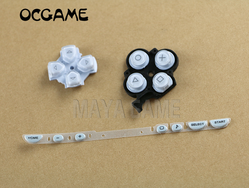 OCGAME Multi Color Left Right Buttons Key Pad Set Repair Replacement Buttons For PSP 2000 PSP2000 Slim Console Wholesale