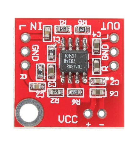 Durable TDA1308 Headphone Amplifier Board Stable Preamplifier For 3V-6V Wide temperature range