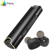 S2 New TWS Wireless Waterproof Bluetooth Earphone In-ear Sport Headset Magnetic Charging Box Hi-Fi Stereo Handsfree Earbuds