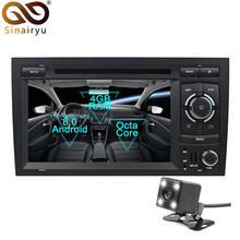 Sinairyu Android 8.0 Octa Core Car DVD Player for Audi A4 Seat Exeo 2002-2008 GPS Navigation Multimedia Radio Stereo Head Unit