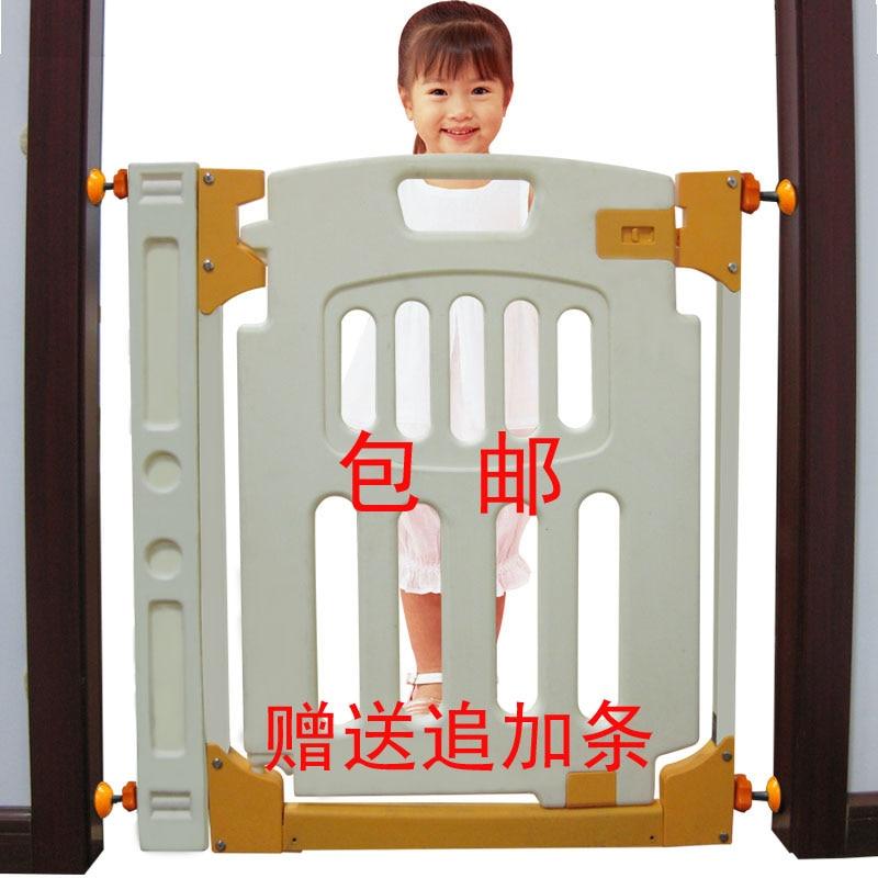 Intelligent Rabbit Children Safety Game Fence Door Guardrail Infant Stairs Pet Isolation Thickening