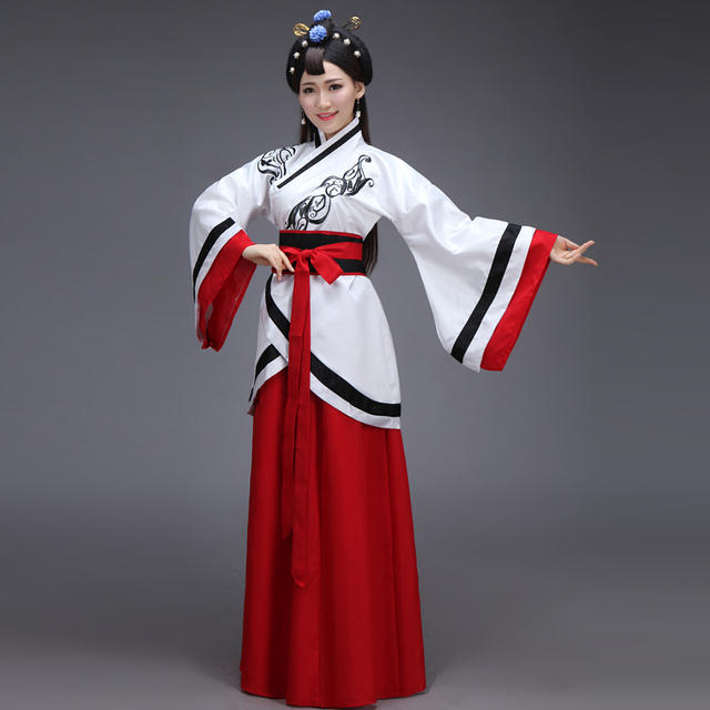 Ancient Chinese Costume Women Clothing Clothes Robes Traditional Beautiful  Dance Costumes Han Tang Dynasty Dress China Fairy 735f30257