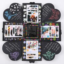 Explosion Gift Box DIY Photo Album Storage Box Handmade Gift Box Birthday Valentine's Gift With Kinds of DIY Accessories Kit