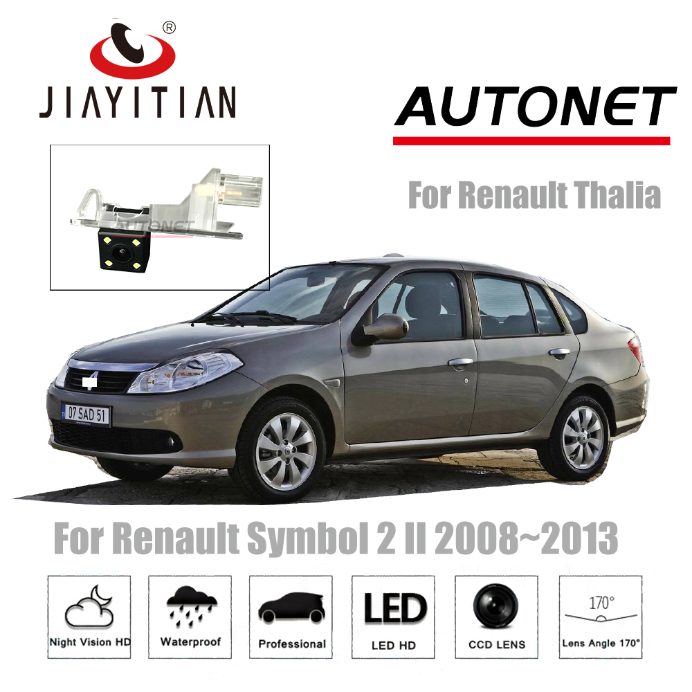 JIAYITIAN Rear view Camera For Renault Symbol 2 for Renault Thalia 2008 2013 backup Camera CCD