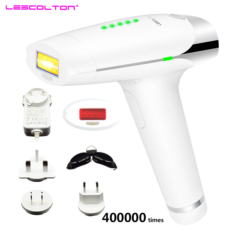 Lescolton IPL Laser Hair Removal Device Permanent Hair Removal IPL laser Epilator Armpit Hair Removal to Remove Lip Legs Bikini hair bikini ipl laser permanent hair removal device epilator 300000 pulse flash removal acne body hair removal device