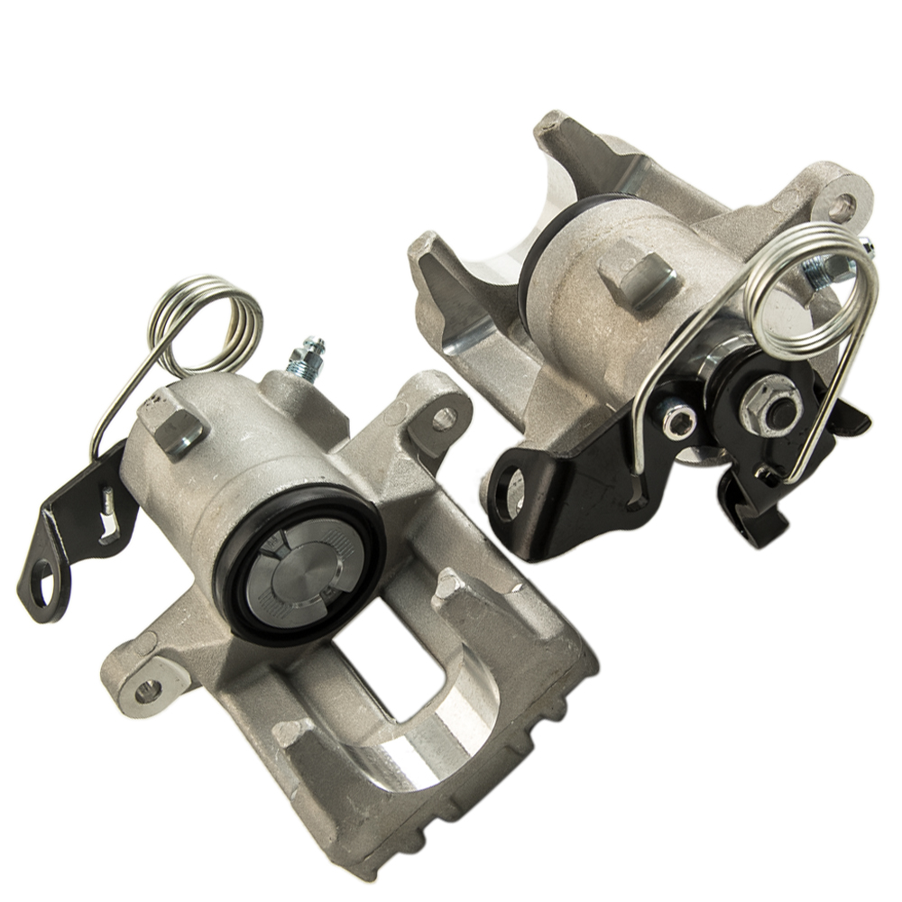 Buy 1Pair Rear Left + Right Brake Calipers For VW AUDI SEAT SKODA Audi A3 1.6 1.8 1.9TDi 96-99 TT 1.8T 98-06 1J0615424 8N0615424 for only 109 USD