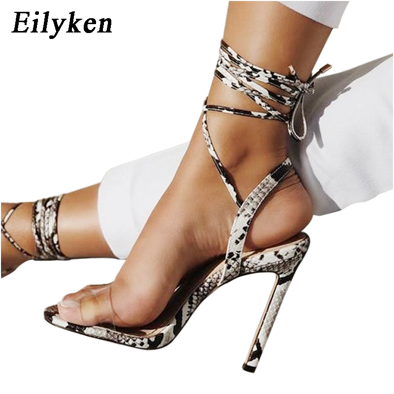 Eilyken Ankle Strap Sandals Women Lace up High Heels Sexy Cross-tied Lace-Up Sandal Summer Party Shoes size 35-40Eilyken Ankle Strap Sandals Women Lace up High Heels Sexy Cross-tied Lace-Up Sandal Summer Party Shoes size 35-40