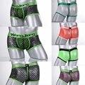 2017 transparente hombres boxers underwear sexy ffashion transparente underwear boxer underwear masculina de los hombres delgados pantalones cortos s-xl