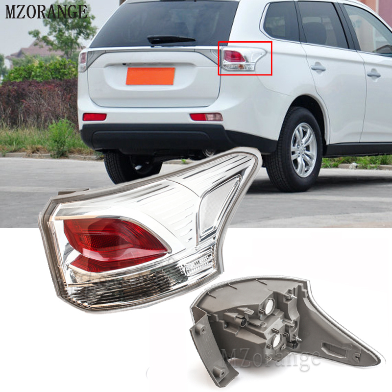 MZORANGE 8330A787 8330A788 Tail Lamp rear light Tail Light Assembly for Mitsubishi OUTLANDER 2013 2014 Tail Light mzorange1pcs driver side lh 8330a787 tail light taillamp rear lamp light for mitsubishi outlander 2013 2015