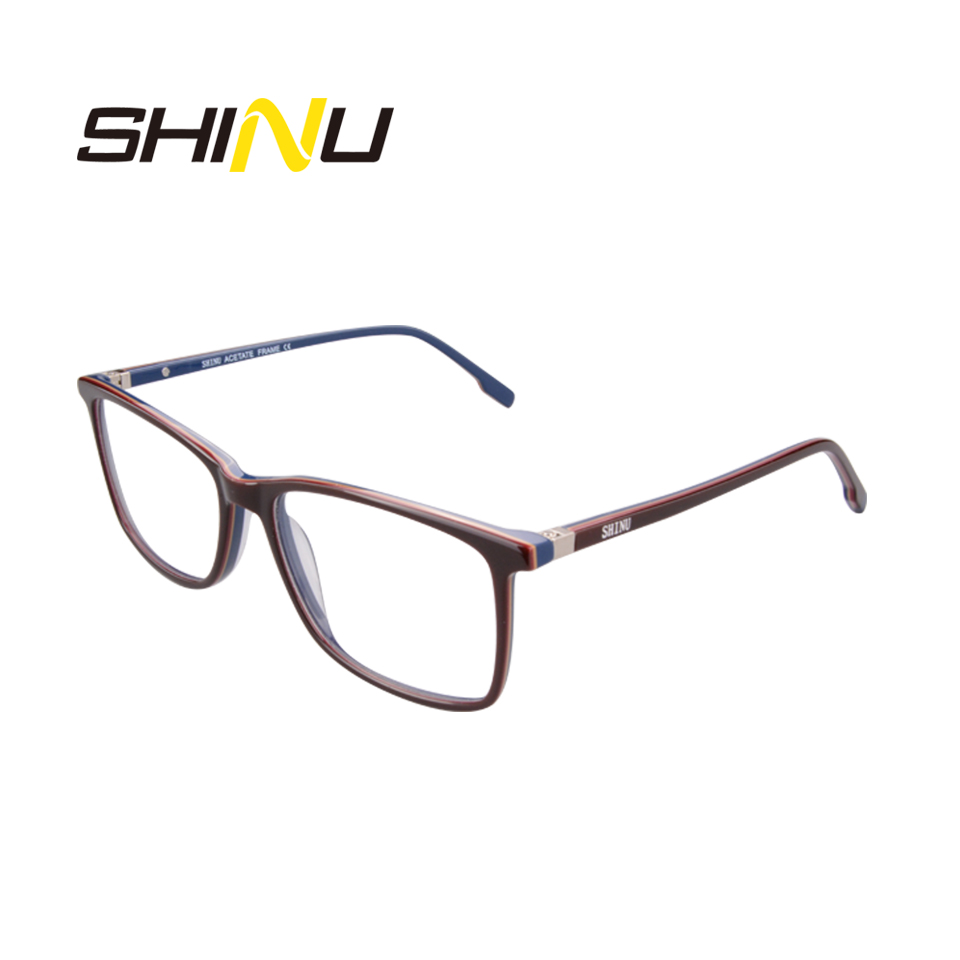 Image 5 - SHINU Brand Eyewear Multifocal Progressive Reading Glasses Diopter Eyeglasses For Near And Far Distance Acetate Optical Glasses-in Women's Reading Glasses from Apparel Accessories