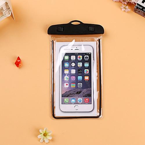 best authentic 4176a ef835 US $2.5 18% OFF Waterproof Phone Pouch For HTC Desire 600 Dual SIM 606W 601  6160 619D 610 610T D610W Swimming Dive Transparent Bag Luminous Case-in ...