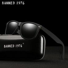 2017 fashion classic HD Polarized UV400 Sunglasses men Cool driving fashion shades vintage brand women Sun Glasses oculos de sol