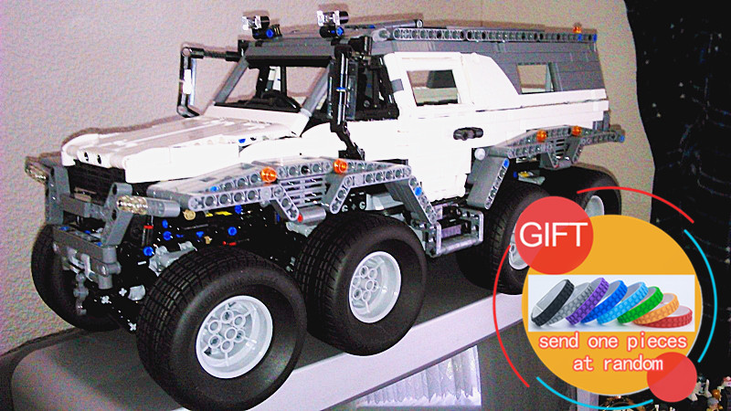 23011 12816pcs technic series Off-road vehicle Model Building  kits Compatible 5360 boy brithday gifts Toys lepin