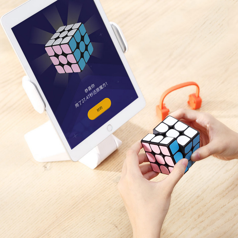2019 versión actualizada Original caliente Xiaomi Giiker Super Rubik cubo I3S inteligente magia magnética Bluetooth APP Sync puzle Juguetes cubo - 4