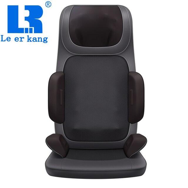 Le er Kang 918X массажер на шею, плечи, поясницу Массажный коврик для тела бытовой, многофункциональный, массажный стул подушка