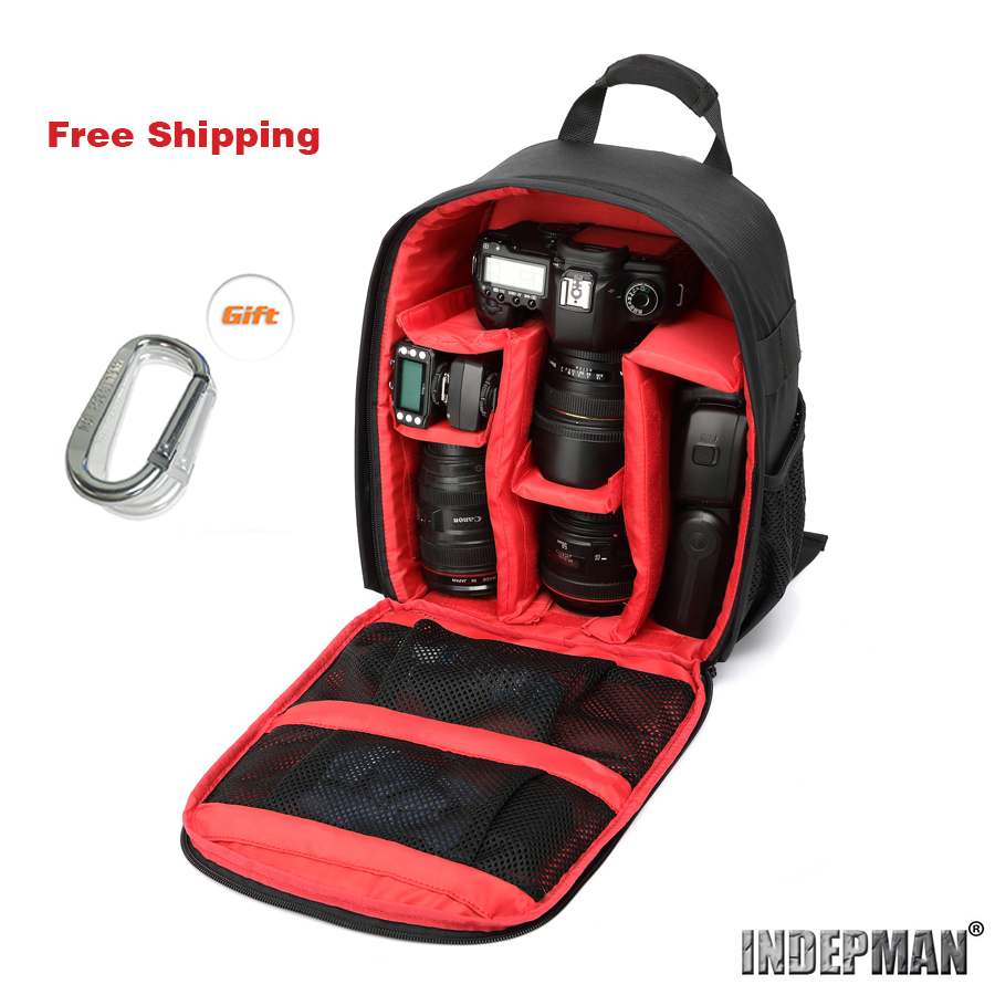 Camera Small Camera Bag For Dslr online shop indepman brand new pattern waterproof backpack dslr camera bag for small compact aliexpress mobile