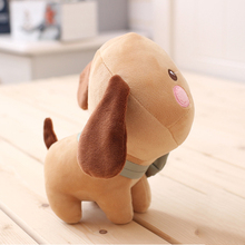 Cute Mini Plush Dog Toy Animal Cow Doll Stuffed Bear Toys For Children Cartoon Animals Dolls Giocattoli Christmas Gifts 50T0300