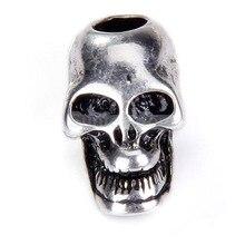 Del Encanto Del cráneo Colgante con Plata Tono de Metal Gótico de Halloween Party 2016 ee