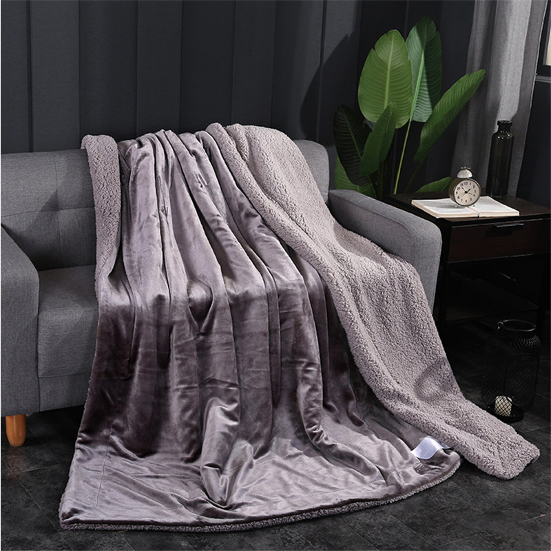 glossy Pure color Cashmere Blanket Thick Blankets Double Coral Fleece Bed Sheet Sofa Throws Blanket Children Quilt Cobertorglossy Pure color Cashmere Blanket Thick Blankets Double Coral Fleece Bed Sheet Sofa Throws Blanket Children Quilt Cobertor