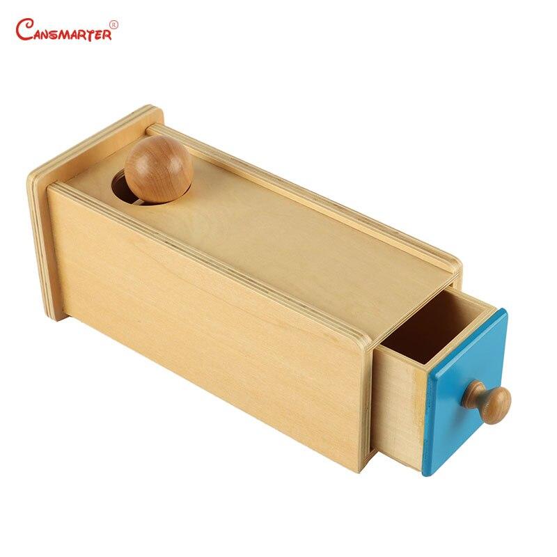 Montessori Matériaux Boîte avec Tiroirs En Bois jouets de balle Sensorielle Jouet Jeux Pratique Enfants Bébé Jouet Éducatif Préscolaire LT003-10
