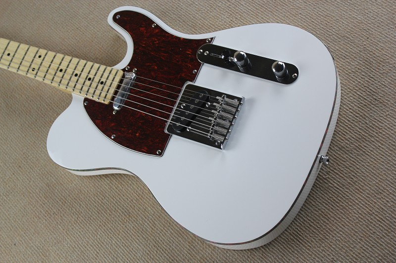 Telecaster Free shipping high quality white TL guitar electric guitar in stock 85 цена