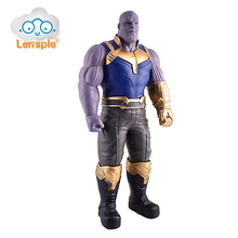Lensple Transformation 33cm Movie Guardians of the Galaxy 3 Infinity War Thanos Action Figure Toy Figurals Gift avengers infinity war guardians of the galaxy supervillain thanos large scale supervillain pvc action figure model toy g1109