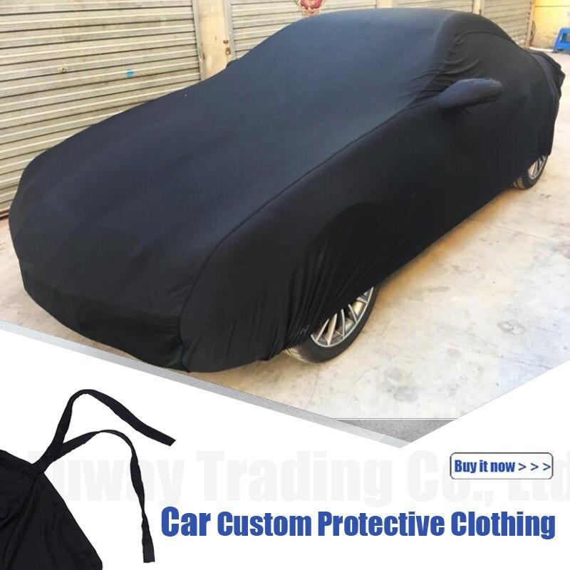 Bâches de voiture Anti UV neige pluie résistant aux rayures automatique pour Mercedes Benz GLK320 C63 W204 CLS G63 W126 E350 GLC300 E300 - 2