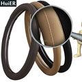 Universal 38CM Soft Car Steering Wheel Cover High Quality Anti-Slip Micro fiber Steering Wheel Protector Interior Accessories